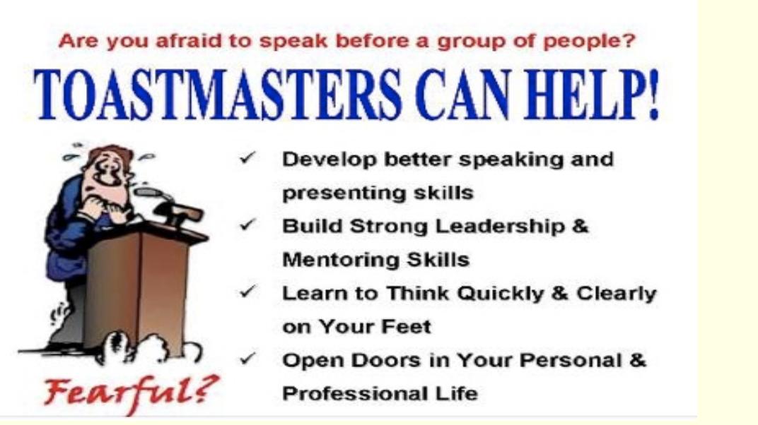 Vero Beach Toastmasters Club