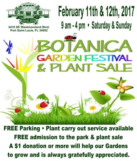 Botanica Garden Festival Plant Sale