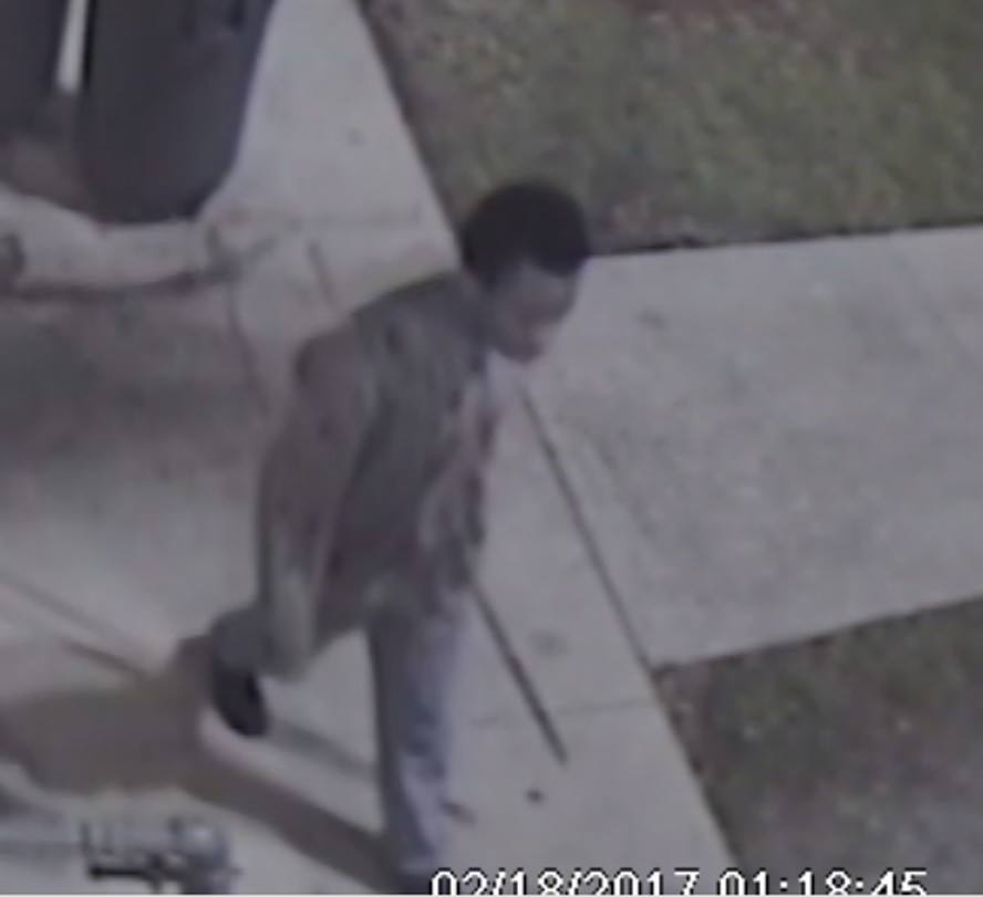 IRCSO seeks help to id burglary suspect