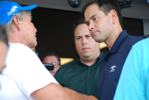 Marco Rubio avoids Constituents
