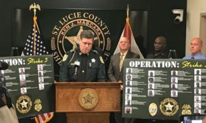 Six Month Undercover Investigation results in 63 arrests