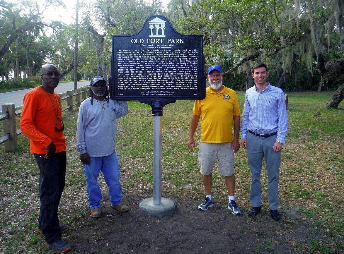 City of Fort Pierce to Unveil Historical Marker at Old Fort Park on May 4th