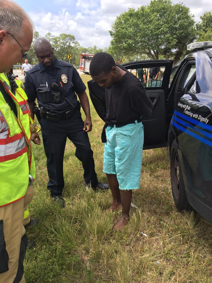 Suspect apprehended with stolen vehicle in Stuart