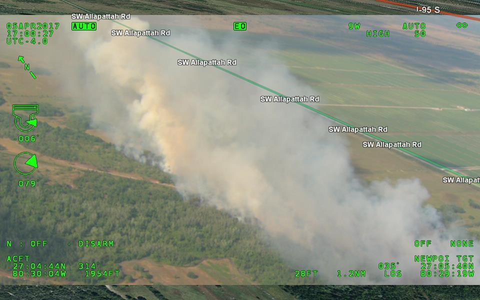 Florida Forest Service Interactive Fire Map   Treasure Coast