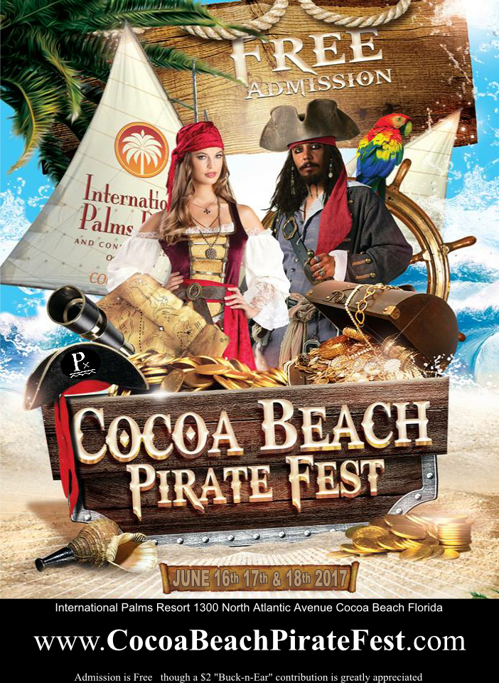 Treasure Awaits You This Father's Day Weekend at Cocoa Beach