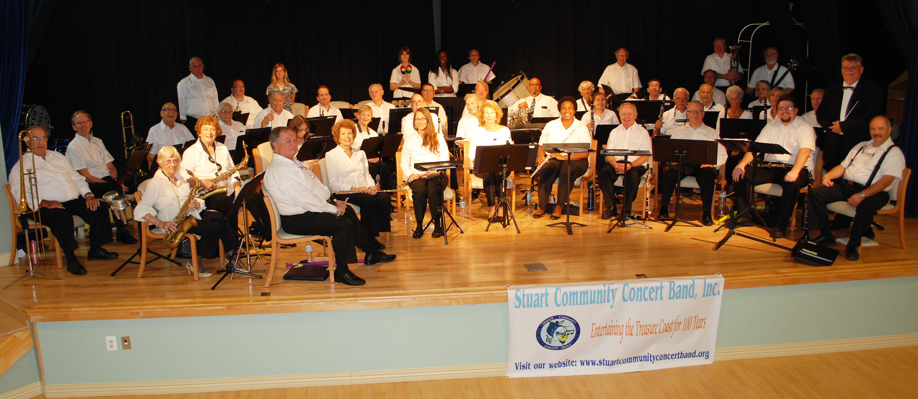 Stuart Community Concert Band Launches Concert Series for 2017-2018 Season