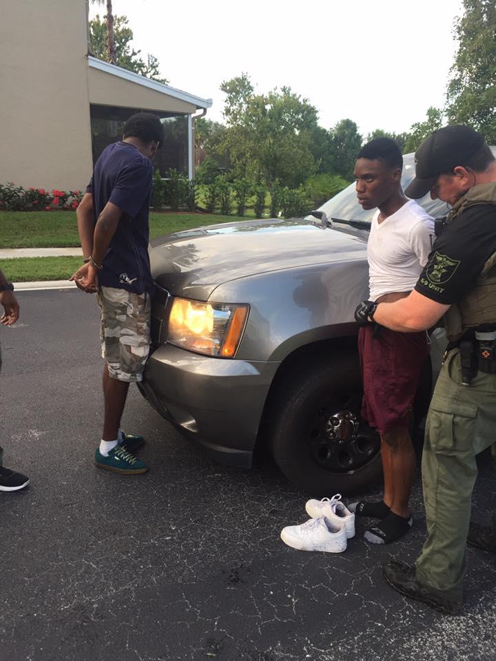 Dade/Broward Burglary Suspects captured in Palm City