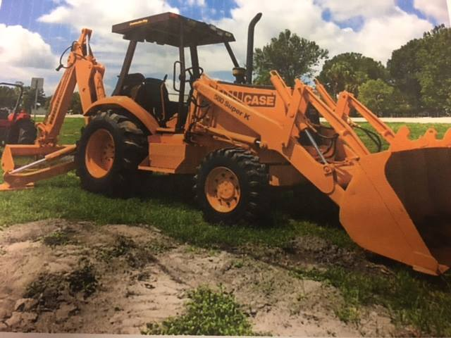 Backhoe stolen in Okeechobee