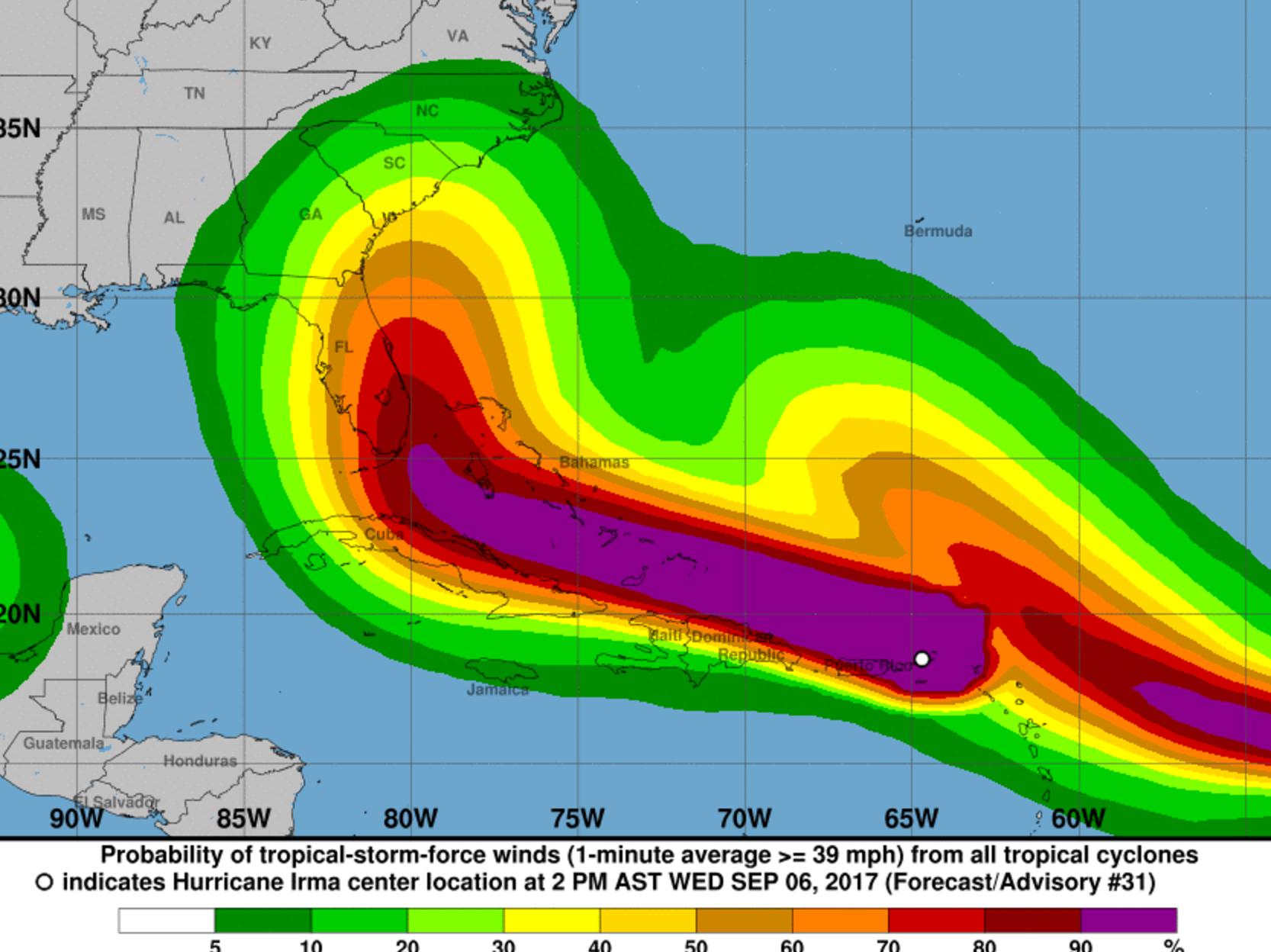 St. Lucie County Hurricane Irma Update Wednesday, Sept. 6
