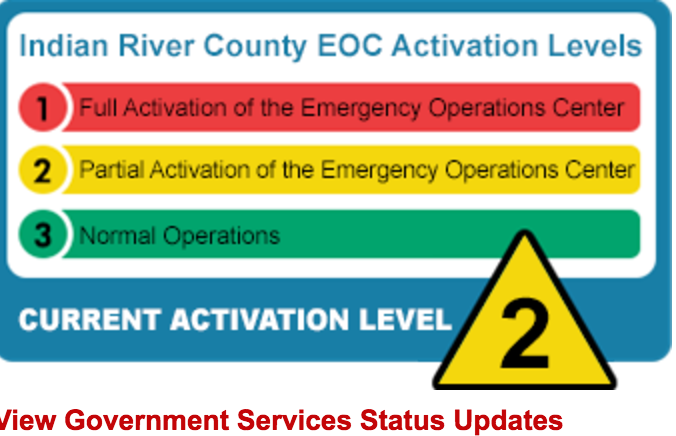 Indian River EOC IRMA update Sept 7