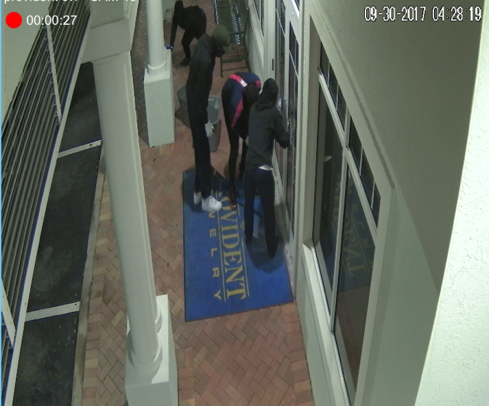 Jupiter PD seeks help with Jewelry Store Attempted Burglary