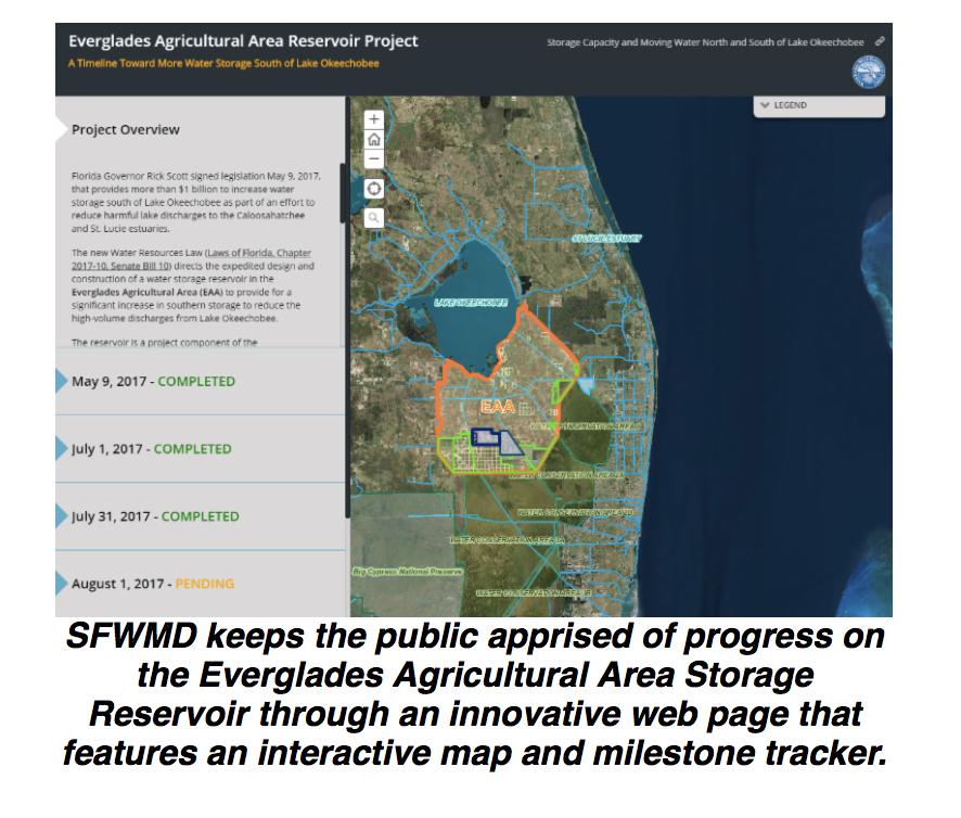 SFWMD Unveils Preliminary Modeling forEAA Storage Reservoir