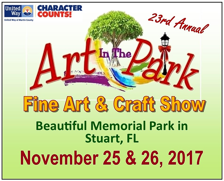 Don't miss the 23rd Annual Art In The Park Fine Art & Craft Show
