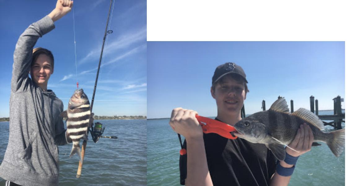 Captain Charlie's Fish Tales April 2018