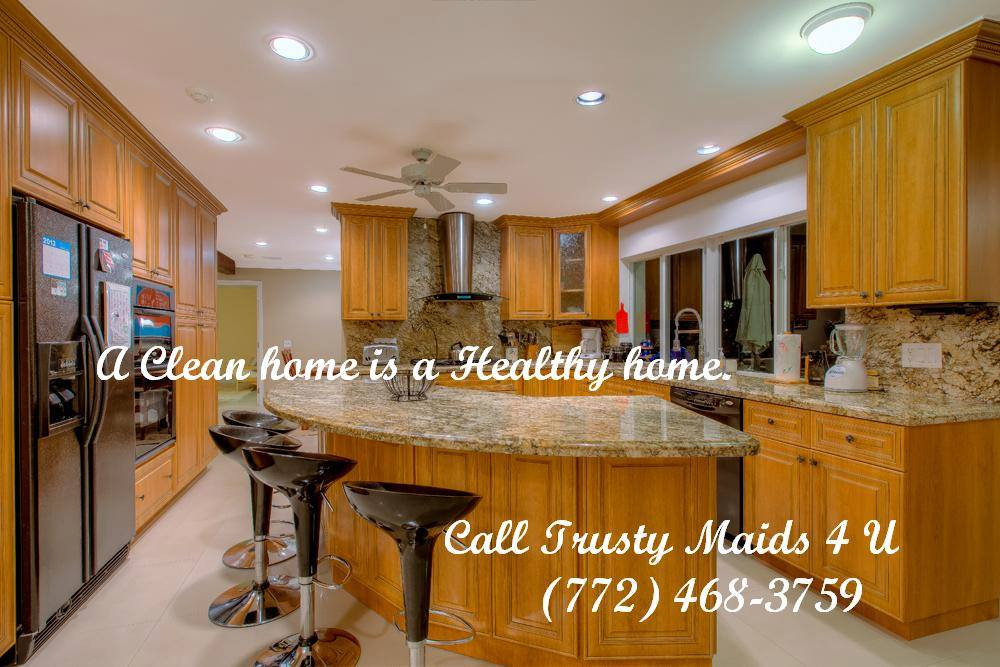 Trusty Maids 4 U Cleaning Service - Treasure Coast - Connecting our