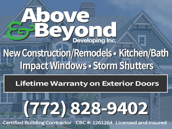 Above and Beyond Developing, Inc  Building Contractors - Treasure