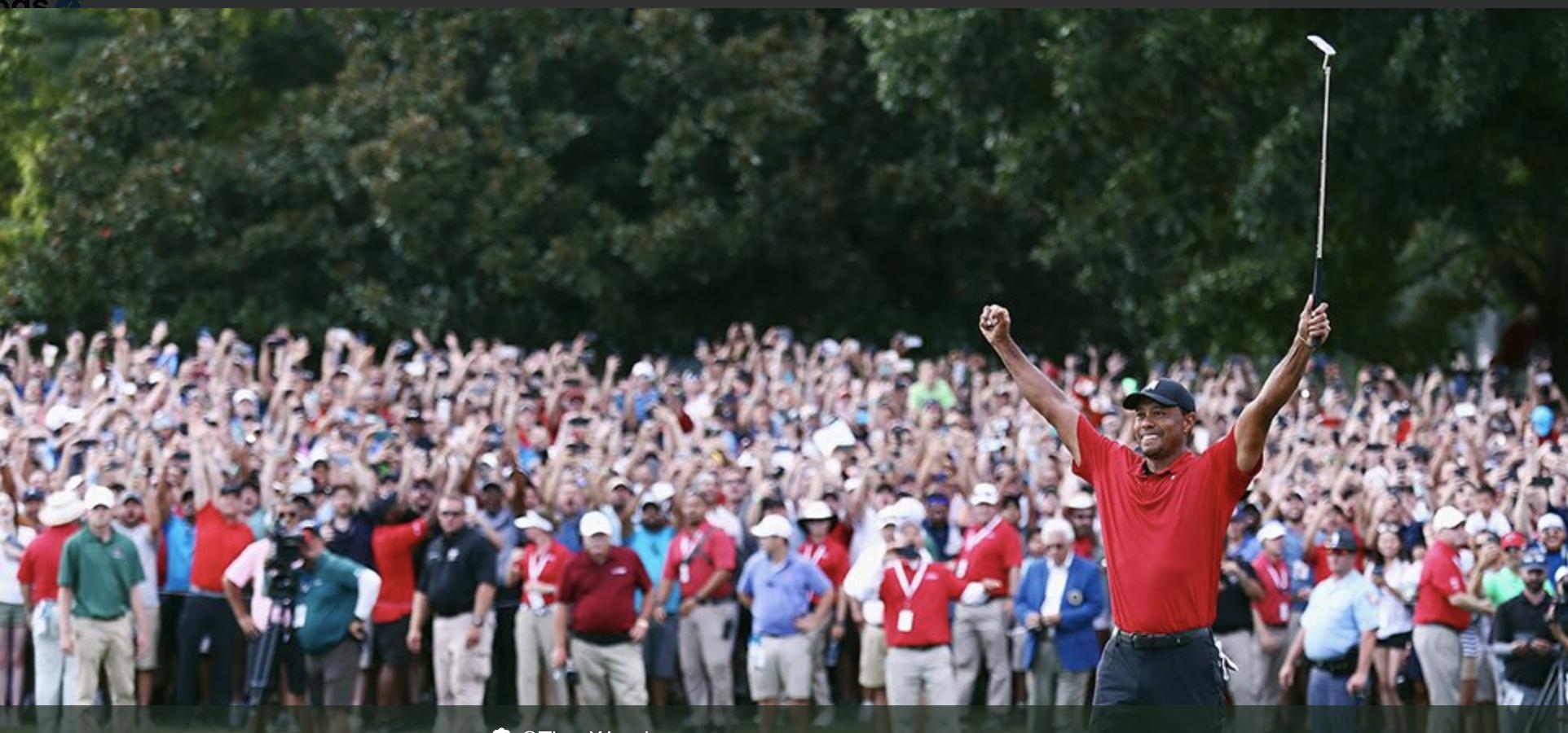 Tiger Wins Tour Championship