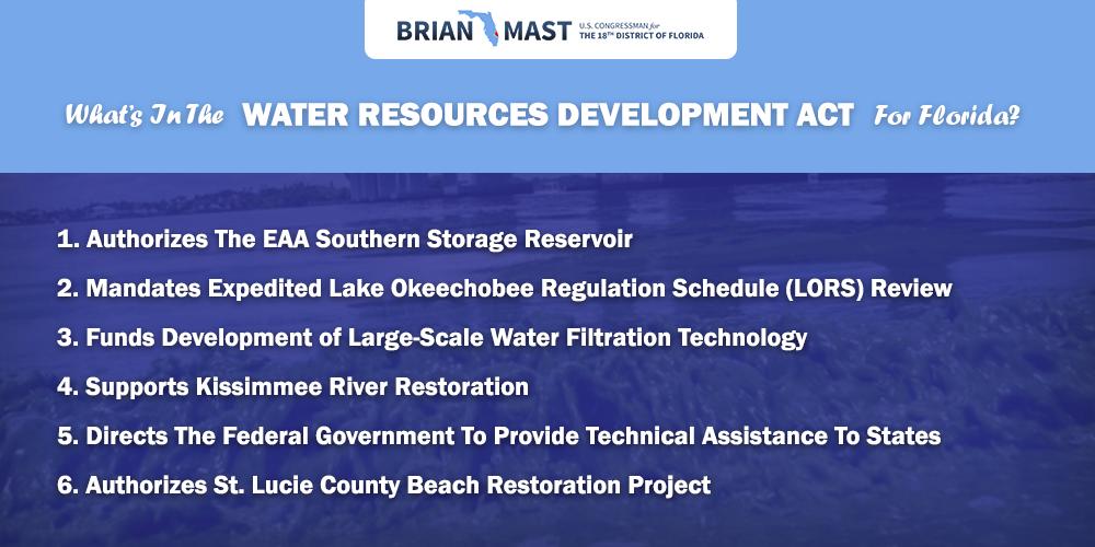 EAA Southern Storage Reservoir Legislation
