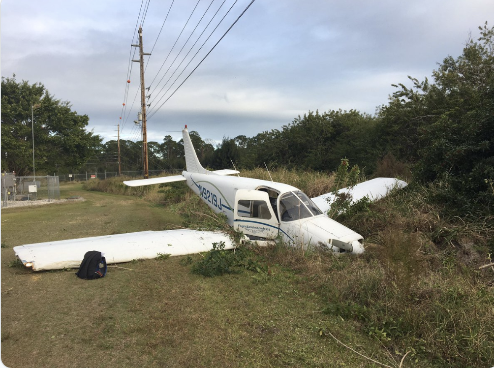 Small Plane crash in Indian River County