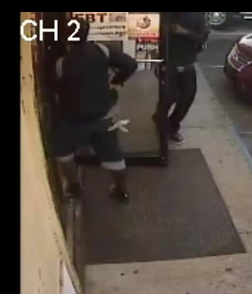 two armed robbery suspects