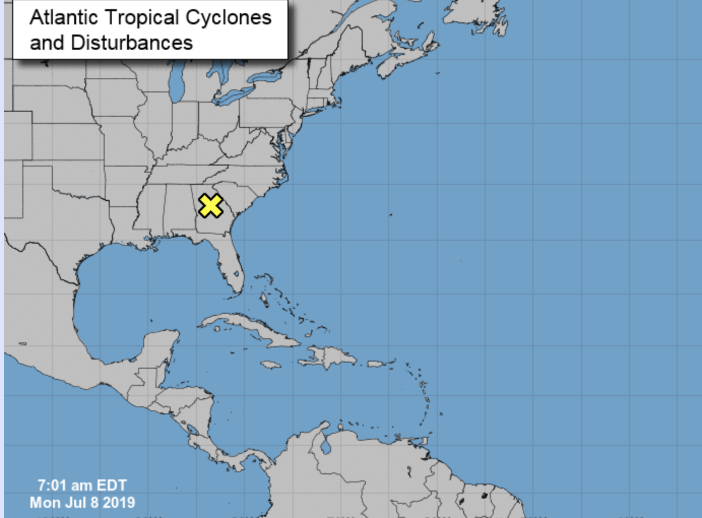 TROPICAL UPDATE: Chance for tropical development in Gulf increases to 80 percent