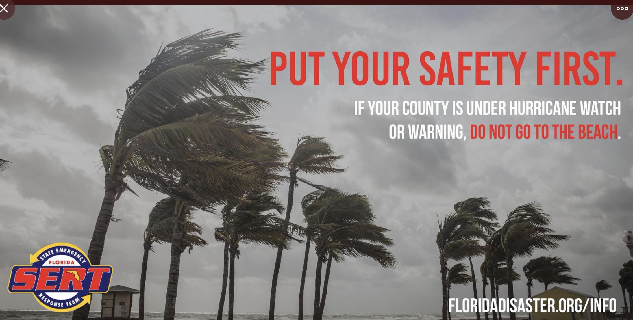 Treasure Coast Hurricane Dorian coverage Sept 3, 2019