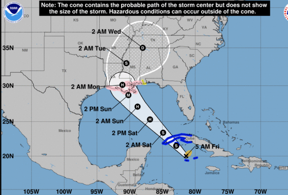 Tropical Storm Ida forms, could hit US as a hurricane
