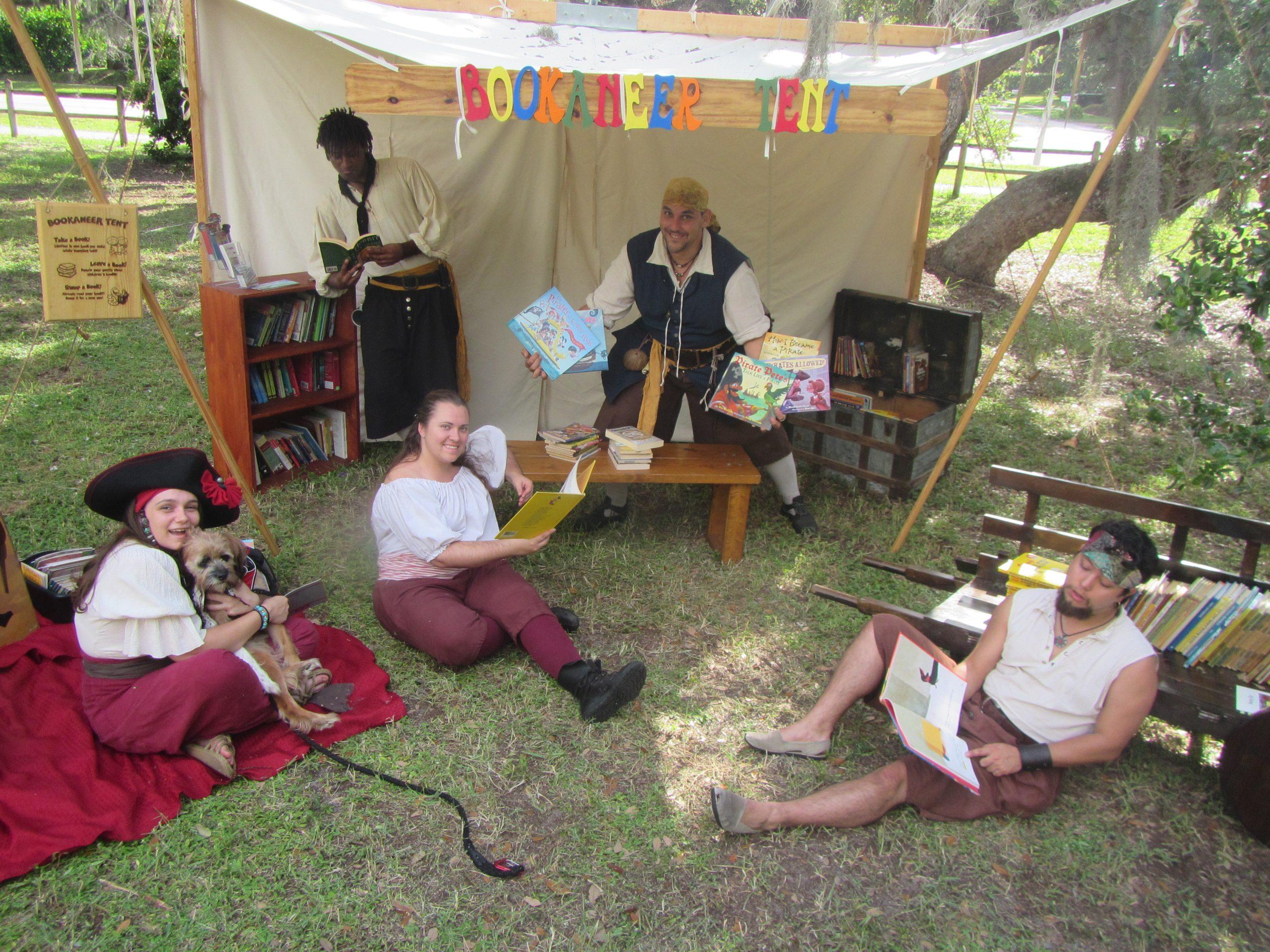 Bookaneer Tent