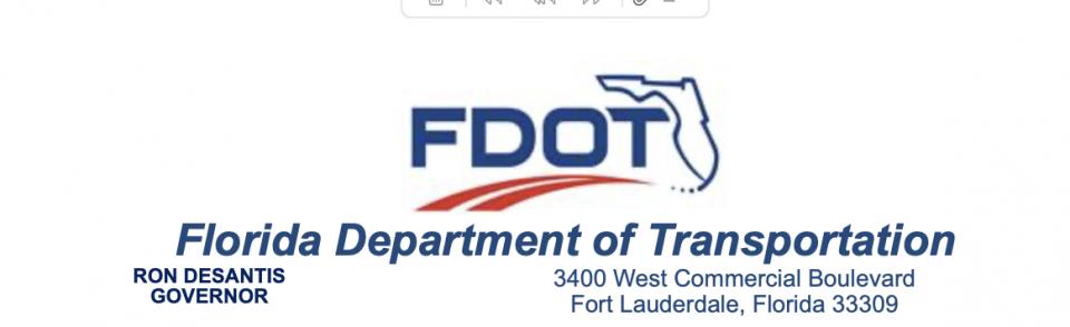 FDOT Treasure Coast Traffic Report
