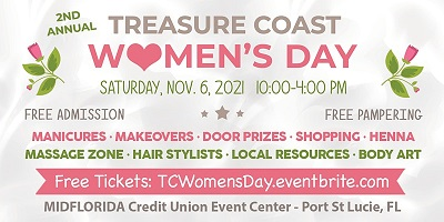 Treasure Coast Women\'s Day:  Bring the women in your life & come out and get pampered!