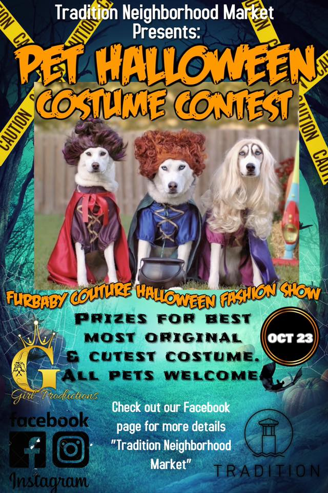 Halloween Pet Costume Contest & Furbaby Couture Halloween Fashion Show
