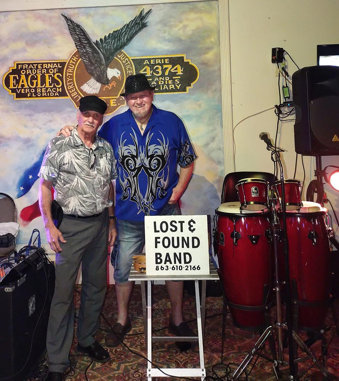 Lost & Found Band at the Vero Beach Eagles