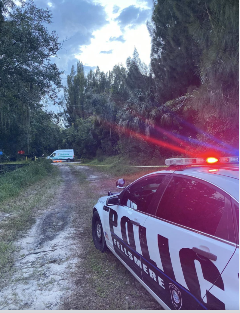 Unidentified body discovered on a vacant lot in Fellsmere