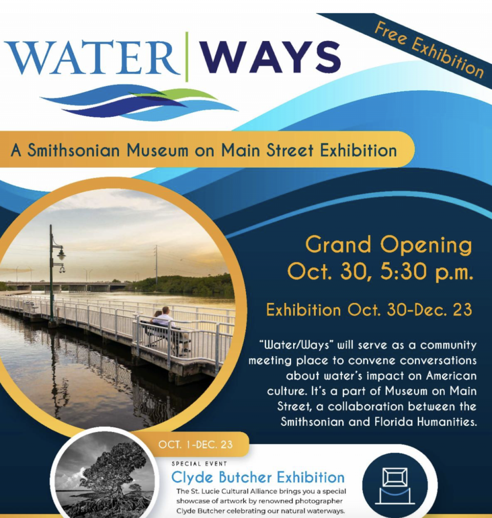 Smithsonian's traveling Water/Ways Exhibition coming to the MIDFLORIDA Event Center