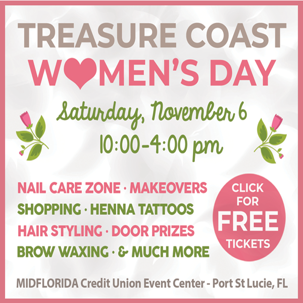 2nd Annual Treasure Coast Women's Day – A Day for You!